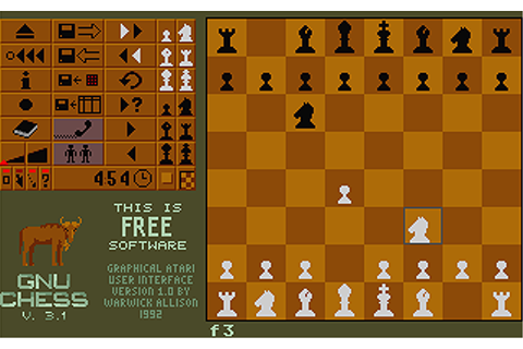Atari ST GNU Chess : scans, dump, download, screenshots ...
